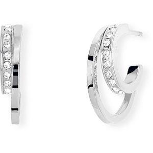 orecchini a cerchio con cristalli donna gioielli 2Jewels minimal chic 261283