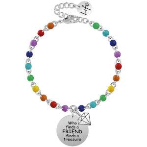 bracciale-donna-kidult-chi-trova-una-amica-trova-un-tesoro-perline-colorate-731828